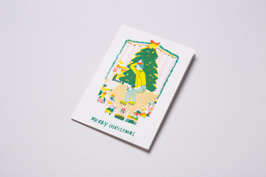 A6 Risograph Greeting Cards