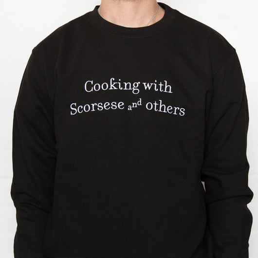 Cooking with Scorsese and Others Sweater