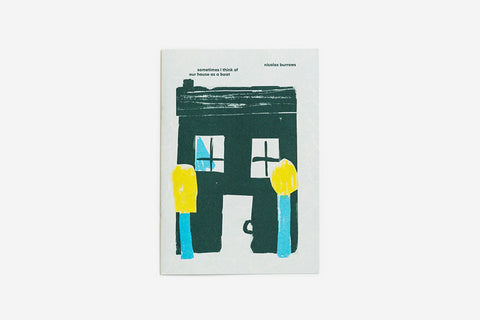 No.4 Sometimes I think of our House as a Boat by Nicolas Burrows