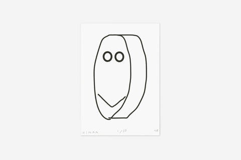 Artist print (Face) by HIMAA