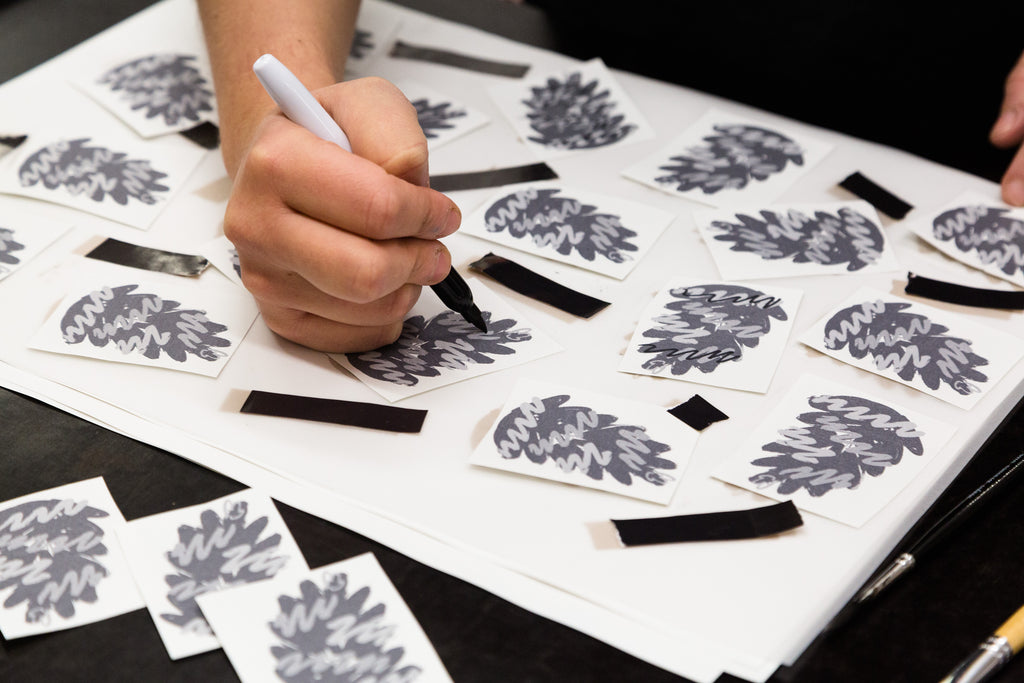 Christmas Wrapping Paper Workshop with Hato Press: Saturday 15th December 12.00 — 14.30