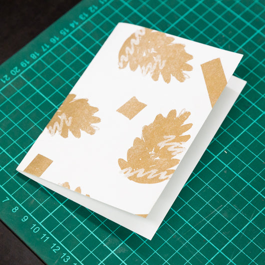 Christmas Card Making Workshop with Hato Press: Saturday 15th December 12.00 – 14.30