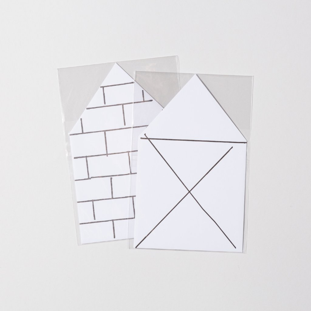 House Card and Envelope by Masanao Hirayama