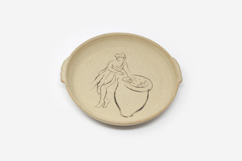 'Olive Picker' ceramic Plate by Harry Darby & Anna Hodgson