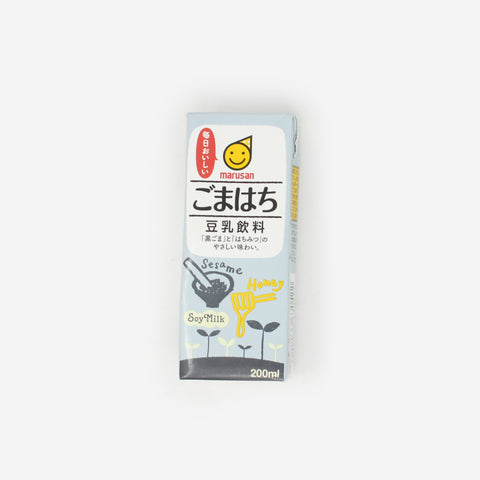 Marusanai Black Sesame Honey Soy Milk Drink