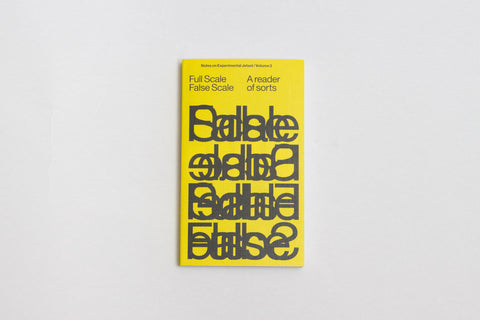 Experimental Jetset: Full Scale False Scale