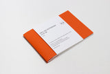 Oru notebook: A6 Kaki Orange