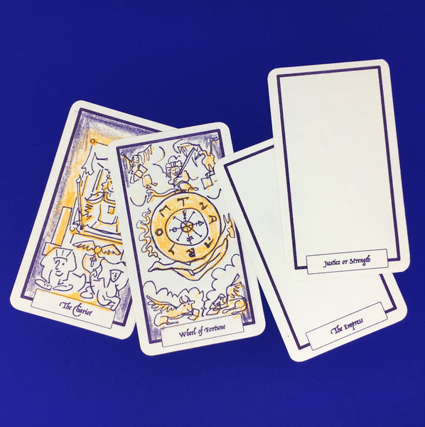 Halloween Workshop: Risograph Tarot Card Making Workshop with Hato Press: Wednesday 30th October 18:00-20:30