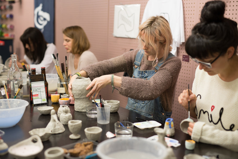 Clay Club with Charlotte Mei: Thursday 4,11,18 July 7 – 9pm