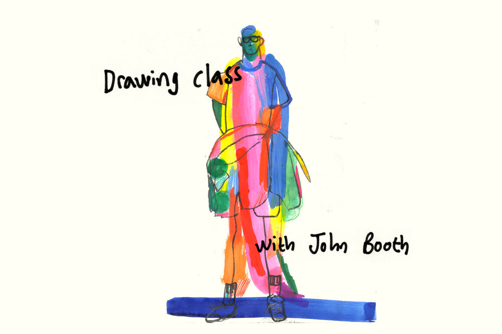 'Drawing Class' with John Booth & Hato Press