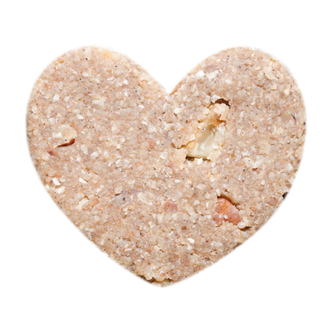 Banana Nut Bread Heart Bar - Rawxies - 4