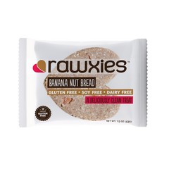 Banana Nut Bread Heart Bar - Rawxies - 1