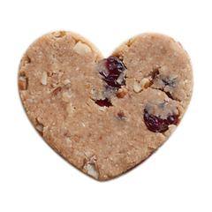 Cranberry Pecan Heart Bar - Rawxies - 4