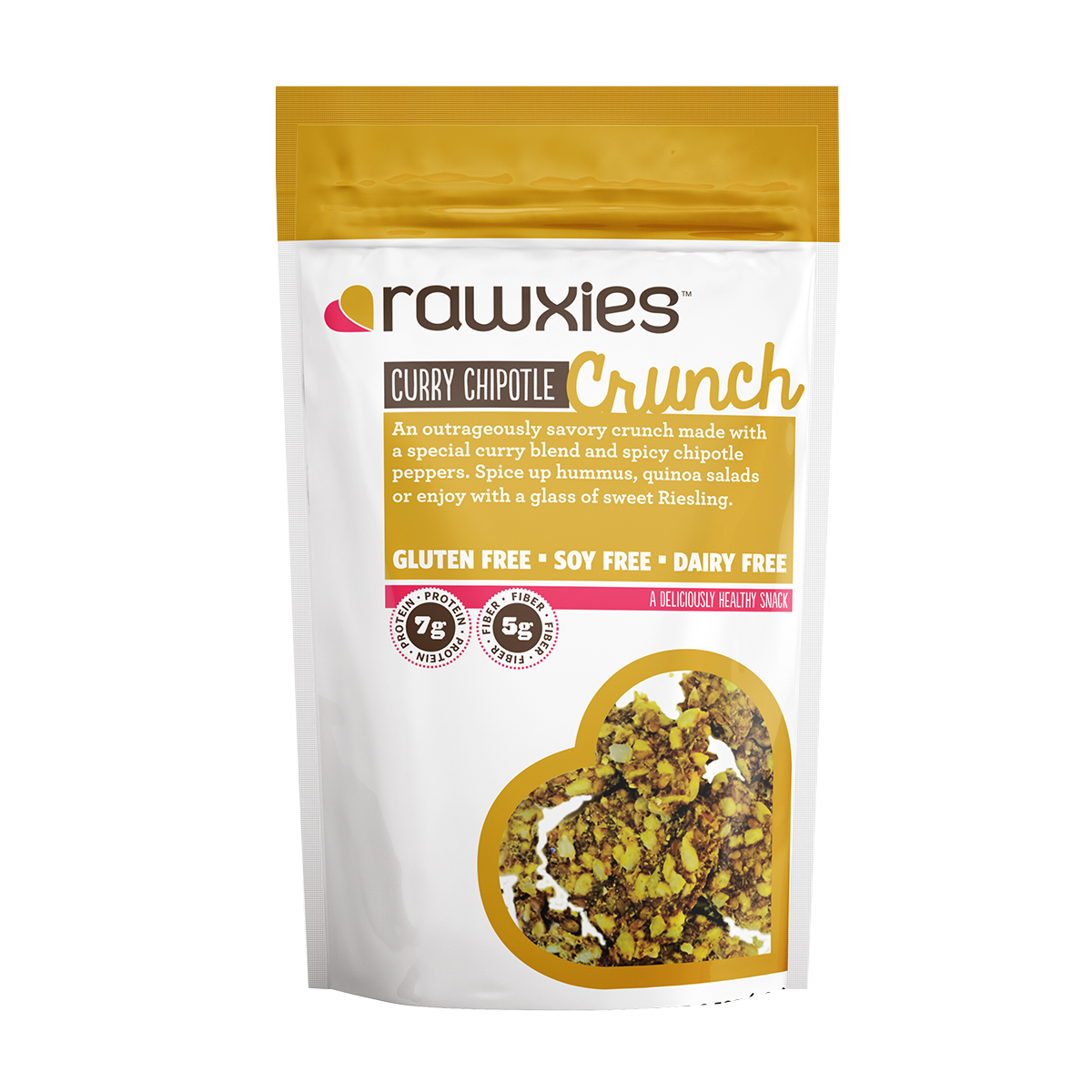 Rawxies Crunch: Curry Chipotle - Rawxies - 1