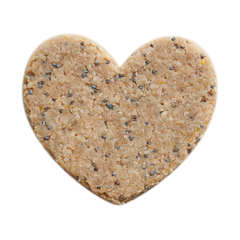 Lemon Poppy Seed Heart Bar - Rawxies - 4