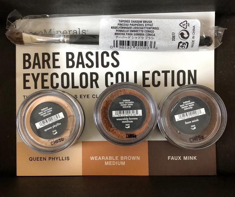 WHOLESALE BAREMINERALS BARE BASICS EYECOLOR COLLECTION SET - 40 PIECE LOT