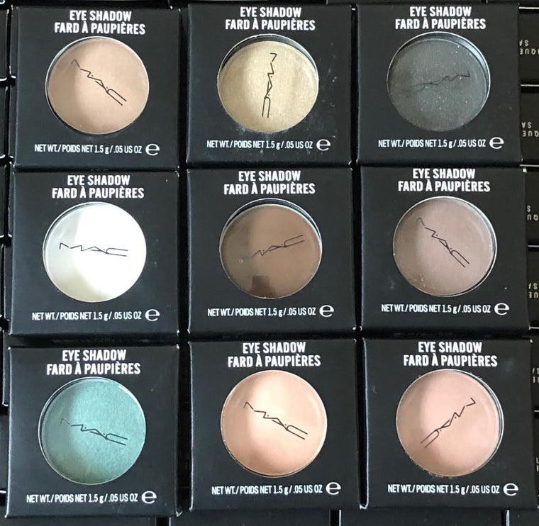 WHOLESALE ASSORTED MAC EYE SHADOW - 50 PIECE LOT