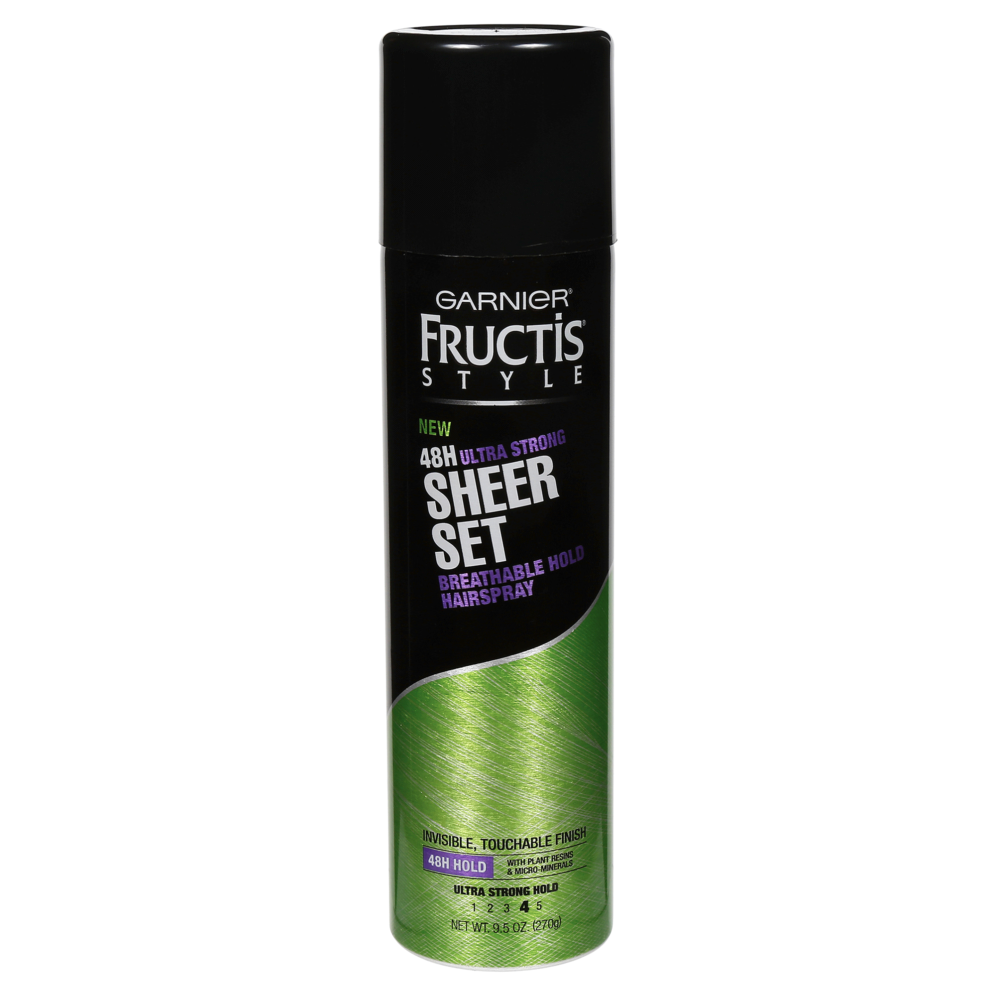 WHOLESALE GARNIER FRUCTIS SHEER SET BREATHABLE HOLD HAIRSPRAY 9.5 OZ - ULTRA STRONG - 48 PIECE LOT