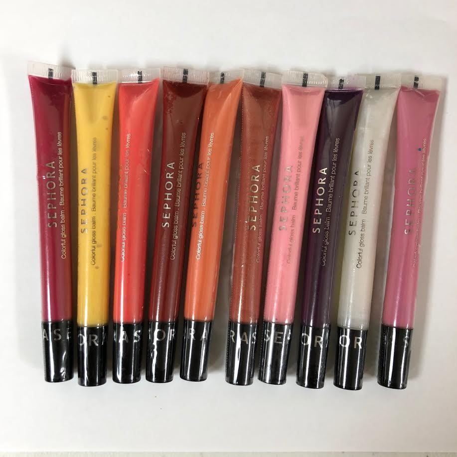 WHOLESALE SEPHORA COLORFUL GLOSS BALM 0.32 OZ. ASSORTED - 50 PIECE LOT