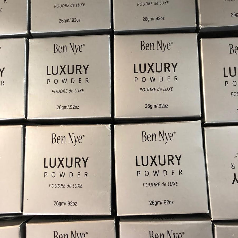 WHOLESALE BEN NYE LUXURY POWDER 0.92 OZ ASSORTED SHADES BOXED - 50 PIECE LOT