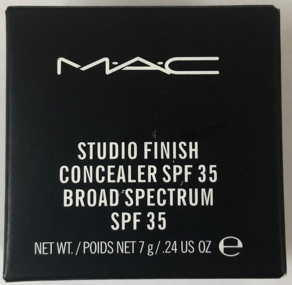 WHOLESALE MAC STUDIO FINISH CONCEALER SPF 35 ASSORTED - 50 PIECE LOT