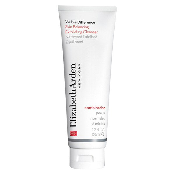 WHOLESALE ELIZABETH ARDEN VISIBLE DIFFERENCE SKIN BALANCING EXFOLIATING CLEANSER 4.2 OZ - 50 PIECE LOT