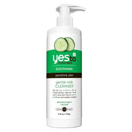 WHOLESALE YES TO CUCUMBERS GENTLE MILK CLEANSER 6 OZ - 48 PIECE LOT