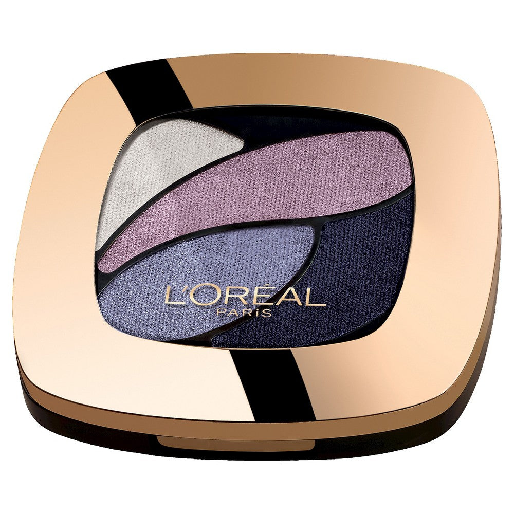 WHOLESALE LOREAL COLOUR RICHE DUAL EFFECTS EYESHADOW QUAD - UNFORGETTABLE LILAC 270 - 72 PIECE LOT
