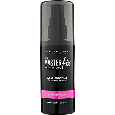 WHOLESALE MAYBELLINE MASTER FIX WEAR BOOSTING SETTING SPRAY 3.4 OZ. - 36 PIECE LOT