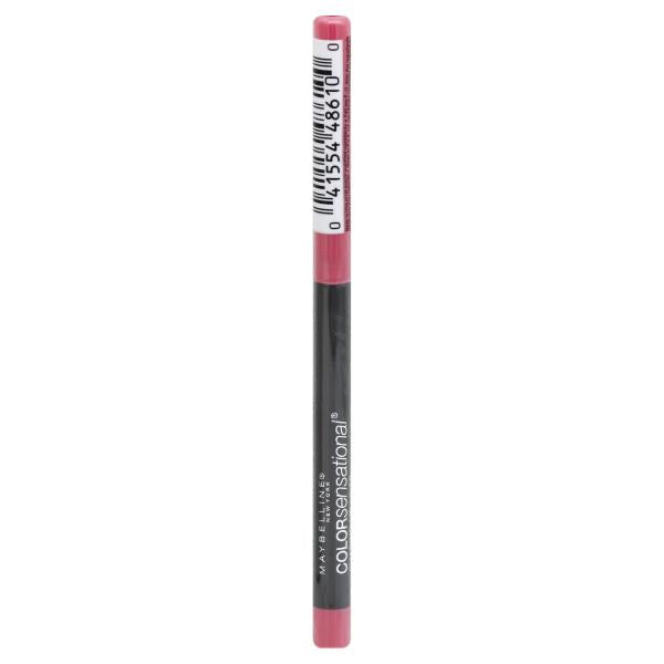 WHOLESALE MAYBELLINE COLORSENSATIONAL SHAPING LIP LINER - PALEST PINK 135 - 50 PIECE LOT