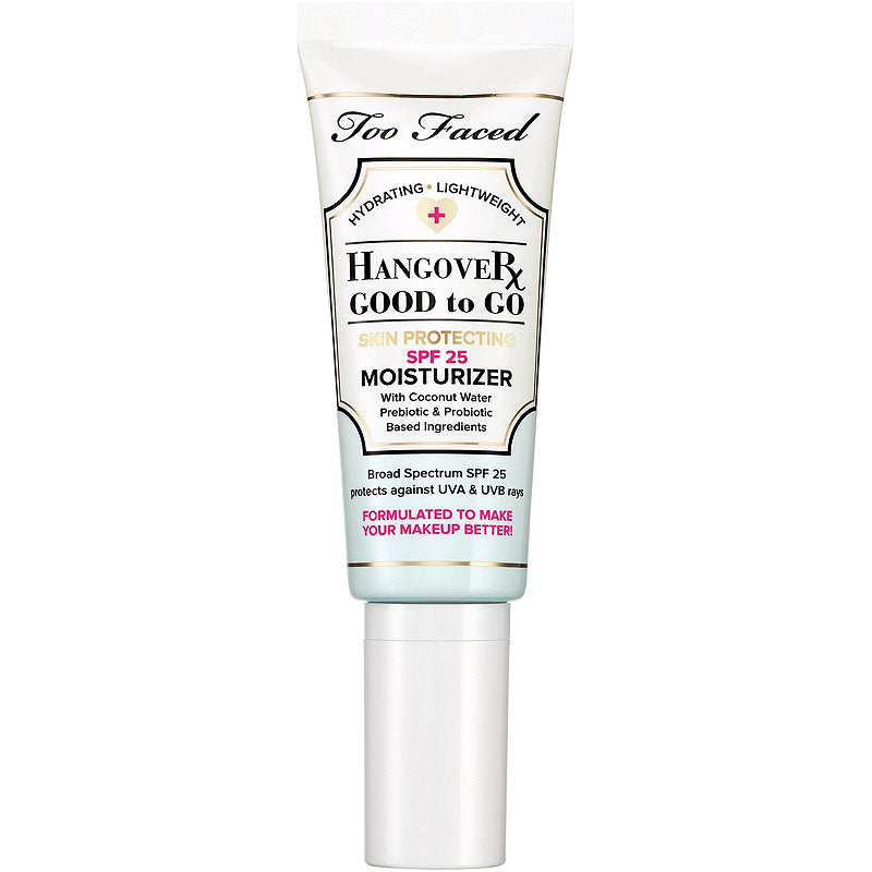 WHOLESALE TOO FACED HANGOVER GOOD TO GO SPF 25 MOISTURIZER 1.4 OZ - 48 PIECE LOT