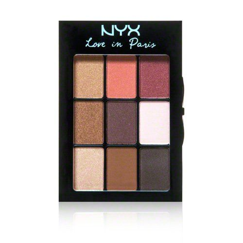 WHOLESALE NYX COSMETICS LOVE IN PARIS EYESHADOW PALETTE - MERCI BEAUCOUP - 48 PIECE LOT