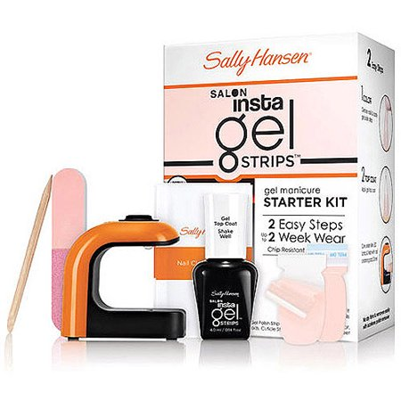 WHOLESALE SALLY HANSEN SALON INSTA GEL STRIPS STARTER KIT - SHELL WE DANCE - 48 PIECE LOT