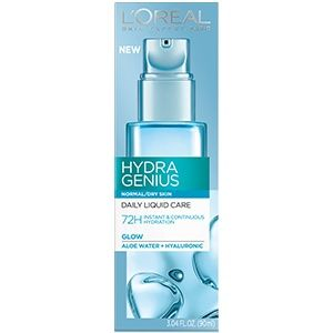 WHOLESALE LOREAL HYDRA GENIUS DAILY LIQUID CARE NORMAL/DRY SKIN 3.04 OZ - 48 PIECE LOT