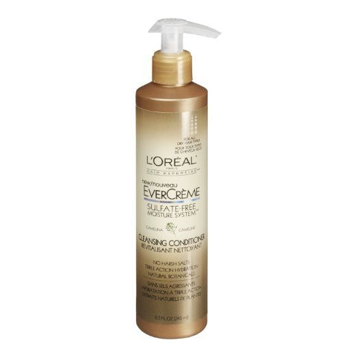 WHOLESALE LOREAL EVERCREME CLEANSING CONDITIONER 8.3 OZ. - 48 PIECE LOT