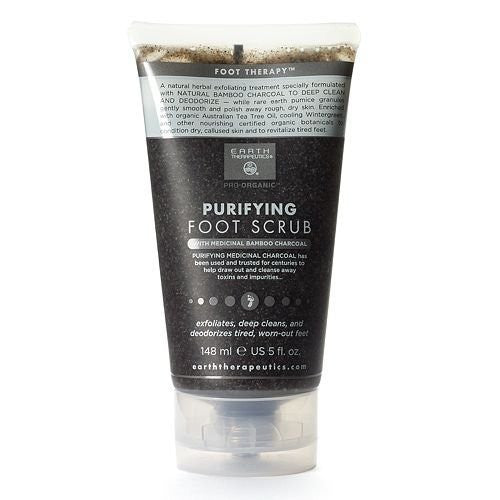 WHOLESALE EARTH THERAPEUTICS PURIFYING FOOT SCRUB 5 OZ. - 48 PIECE LOT
