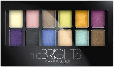 WHOLESALE MAYBELLINE THE BRIGHTS EXPERT WEAR EYE SHADOW PALETTE - 72 PIECE LOT