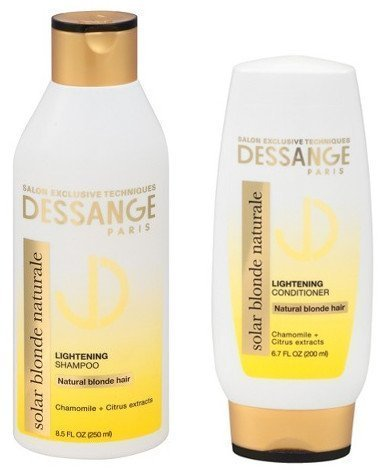 WHOLESALE DESSANGE PARIS SOLAR BLONDE NATURALE LIGHTENING SHAMPOO & CONDITIONER SET - 48 PIECE LOT