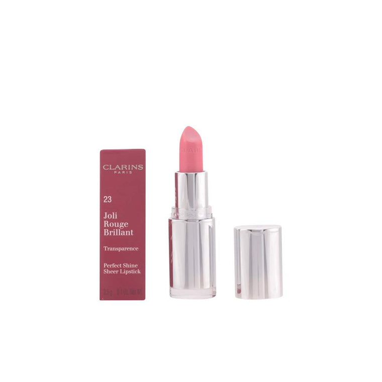 WHOLESALE CLARINS JOLI ROUGE BRILLIANT LIPSTICK - ROSE PETAL 23 - 19 PIECE LOT