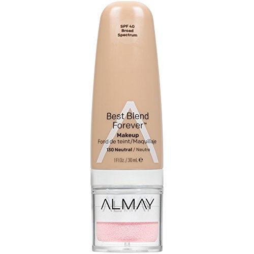WHOLESALE ALMAY BEST BLEND FOREVER MAKEUP 1 OZ - NEUTRAL 130 - 48 PIECE LOT