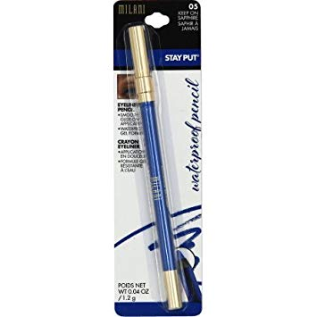 WHOLESALE MILANI STAY PUT WATERPROOF EYELINER PENCIL - KEEP ON SAPPHIRE 05 - 48 PIECE LOT