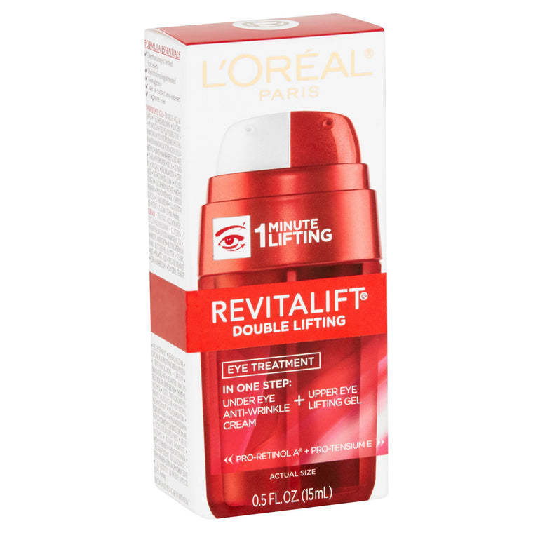 WHOLESALE LOREAL REVITALIFT DOUBLE LIFTING EYE TREATMENT 0.5 OZ - 48 PIECE LOT