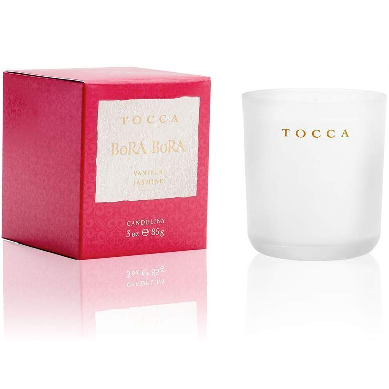 WHOLESALE TOCCA BORA BORA VANILLA & JASMINE CANDLE 3 OZ - 50 PIECE LOT