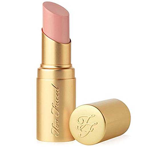 WHOLESALE TOO FACED LA CREME COLOR DRENCHING LIP CREAM LIPSTICK MINI SIZE 0.05 OZ - NAKED DOLLY - 50 PIECE LOT