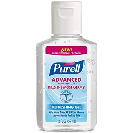WHOLESALE PURELL ADVANCED HAND SANITIZER REFRESHING GEL 2 OZ - 100 PIECE LOT