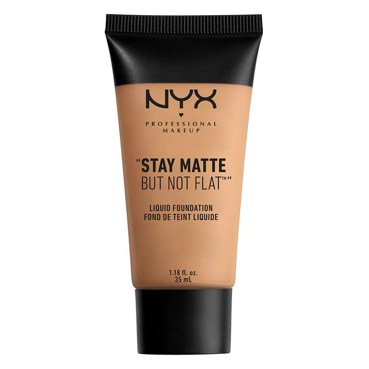 WHOLESALE NYX STAY MATTE BUT NOT FLAT LIQUID FOUNDATION 1.18 OZ - GOLDEN BEIGE - 48 PIECE LOT