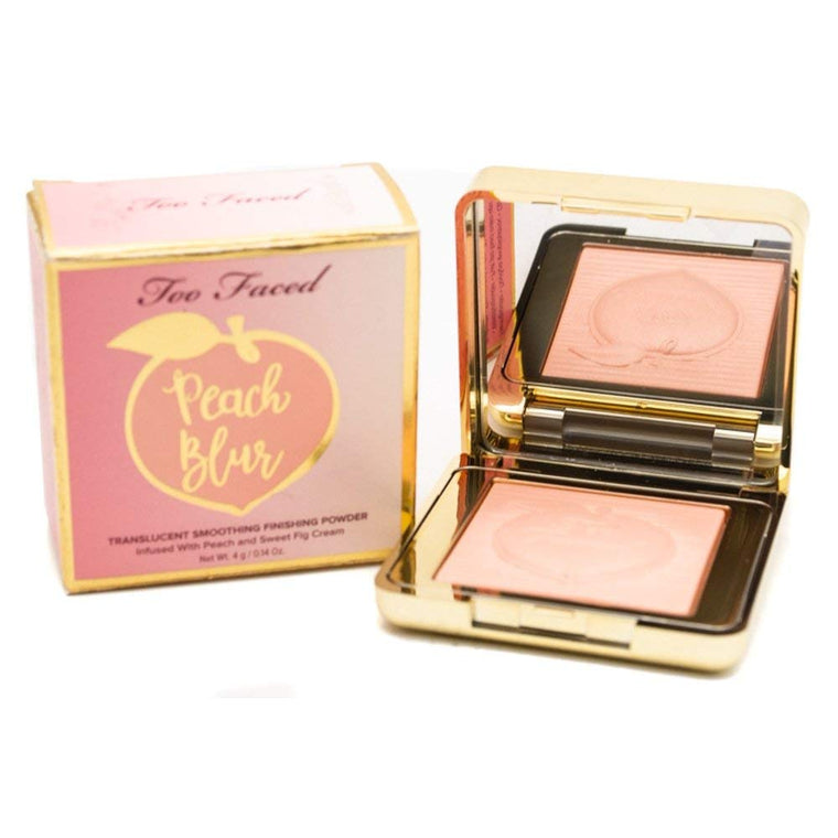 WHOLESALE TOO FACED PEACH BLUR TRANSLUCENT SMOOTHING FINISHING POWDER TRAVEL SIZE 0.14 OZ - 50 PIECE LOT