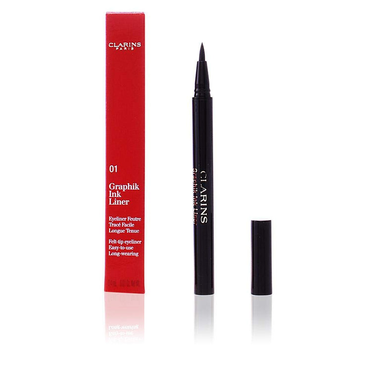 WHOLESALE CLARINS GRAPHIK INK LINER LIQUID EYELINER - BLACK 01 - 50 PIECE LOT