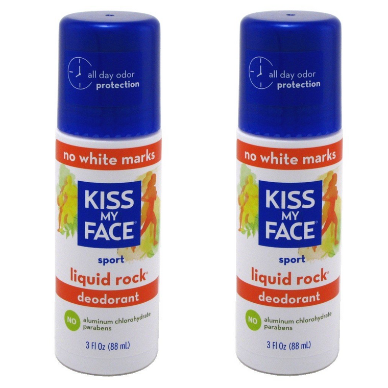 WHOLESALE KISS MY FACE LIQUID ROCK SPORT DEODORANT 3 OZ (PACK OF 2) - 48 PIECE LOT