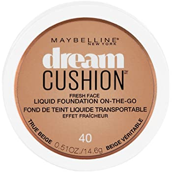 WHOLESALE MAYBELLINE DREAM CUSHION FRESH FACE LIQUID FOUNDATION ON-THE-GO 0.51 OZ - TRUE BEIGE 40 - 72 PIECE LOT